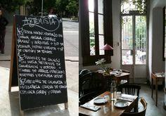 artemisia en Gorriti 5996. Comida natural, casra con muchos platos vegetarianos