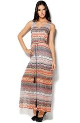 DRY LAKE Olivia Long Dress Dawn Print Bubbleroom.dk