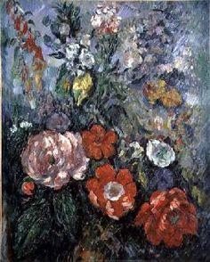 Paul Cézanne - Flowers
