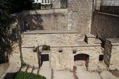 Château-fort de Dourdan (Ile de France - détail