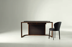 Ion Desk by Chi Wing Lo for Giorgetti Space Furniture, Office Furniture, Color Shades, Architecture, Decoration, Home Office, Luxury Homes, Interior Decorating, Interior Design