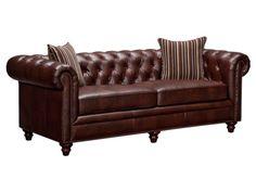 Chesterton Brown Sofa - American Signature Furniture