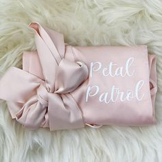 9 Flower Girl Gifts That Are as Sweet as She Is Flower Girl Robes, Flower Girl Gifts, Flower Girls, Bridesmaid Robes, Bridesmaid Flowers, Bridesmaid Proposal, On Your Wedding Day, Dream Wedding, Bachelorette Party Gifts
