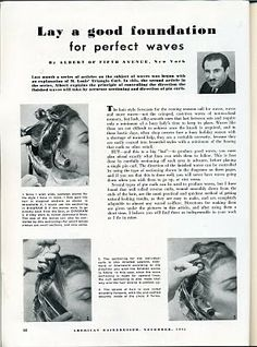Brilliant 1930S Finger Waves Pin Curls The Things In The Nightmares Of Short Hairstyles Gunalazisus
