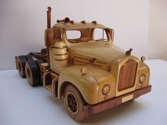 a few photos of mack and the 1918 model AC Mack trucks. Wooden Toy Trucks, Wooden Car, Making Wooden Toys, How To Make Toys, Mack Trucks, Toys Shop, Wood Toys, Paper Toys, Toys For Boys