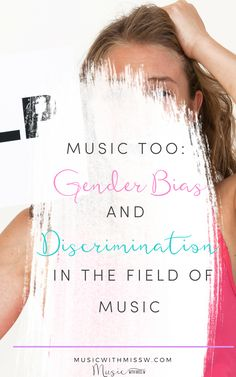 Gender Bias and Discrimination, when are we going to talk about it? This topic barely scratches the surface of the research out there. Music Education Activities, Teacher Resources, Teaching Ideas, Movement Activities, Physical Education, Music Lesson Plans, Music Lessons, Music Classroom, Music Teachers