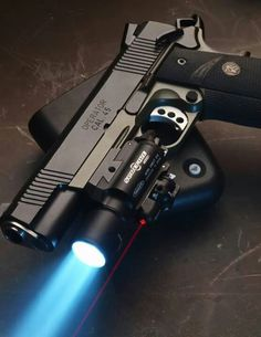 Springfield Armory Operator 1911 in ACP, Surefire tac light Weapons Guns, Guns And Ammo, Rifles, Airsoft, Colt M1911, Colt 45, Revolvers, Armas Wallpaper, 1911 Pistol