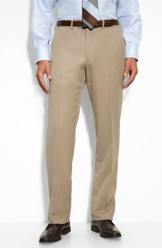 JB Britches Flat Front Worsted Wool Trousers available at  Nordstrom Cotton  Pants 51e605e2e5
