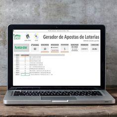 Planilha Gerador de Apostas de Loteria  🔗 linktr.ee/tudocomexcel #excel #planilha #tudocomexcel #MSEXCEL #office