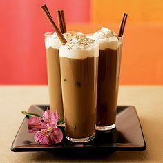 Iced Vanilla Coffee Milk - South Beach Diet Recipes