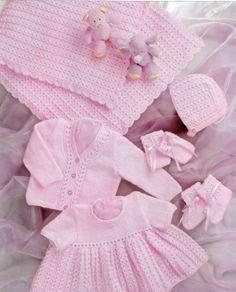 Prem Baby Reborn or Baby dolls clothes shawl by PrettyVintageKnits, £0.99