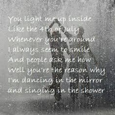 Shower by Becky G. I LOVE THIS SONG! It is exactly how I feel about a certain boy I like. :P.... Don't JUDGE ME!!!!!