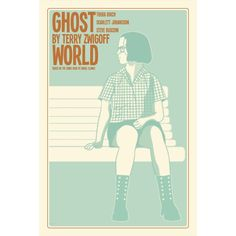 Ghost World 12x18 inches movie poster. £12.00, via Etsy.