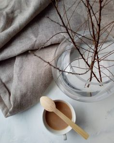 M O M E N T // #moment #linen #beige #white #cupoftea #details #photography #styling #aesthetic #home #hem #hjem #kotona #brown #fida… Tea Cups, In This Moment, Beige, Brown, Photography, Instagram, Art, Art Background, Photograph