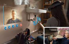 Microsoft HoloLens http://virtualmentis.altervista.org/