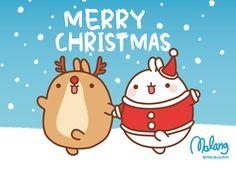 Merry Christmas Molang by leyfzalley.deviantart.com on @DeviantArt