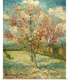 Vincent van Gogh Souvenir de Mauve painting for sale, this painting is available as handmade reproduction. Shop for Vincent van Gogh Souvenir de Mauve painting and frame at a discount of off. Art Van, Van Gogh Art, Vincent Van Gogh, Van Gogh Pinturas, Van Gogh Paintings, Tree Paintings, Canvas Paintings, Peach Trees, Peach Blossoms