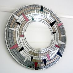 """Eternal"" mosaic mirror by Mirror Envy"