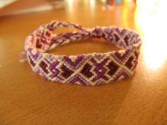 purple version Friendship Bracelets, Purple, Blog, Jewelry, Jewlery, Jewerly, Schmuck, Blogging, Jewels