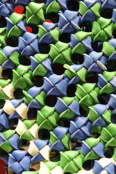 Leather from Guardolificio B.R.M. © CUIR A PARIS Feb.12