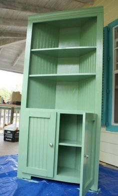 How To Build A Farmhouse Corner Cupboard Project | The Homestead Survival