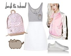 """#PVxPusheen"" by julieally ❤ liked on Polyvore featuring Pusheen, Dolce&Gabbana, Prada Sport, contestentry and PVxPusheen"