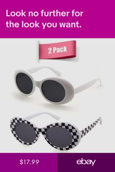 f90c4cdb404a Bold Retro Oval Mod Thick Frame Sunglasses Clout Goggles with Round Lens 51
