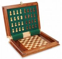 Best Magnetic chess set available with strong hold and Excellent Quality. Portable and magnetic chess sets keeping your pieces perfect in place wherever you are playing.  #MagneticChessSets