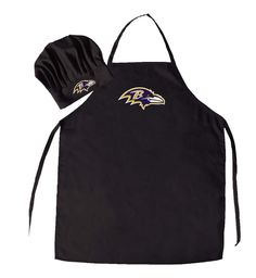 NFL Baltimore Ravens Apron and Chef Hat