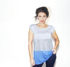 #DIESSE #SpringSummer2016 #shirt-Sleeveless T-shirt, crew neck, color block print #model #StellaScorzo #photographer #MariannaDepasquale #designer #DiegoSalerno  http://www.diessefashion.it/