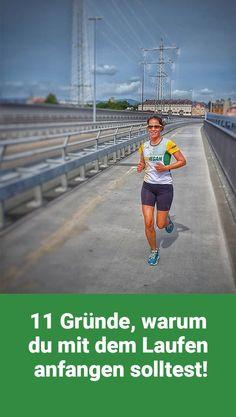 11 Gründe, warum du mit dem Laufen anfangen solltest!