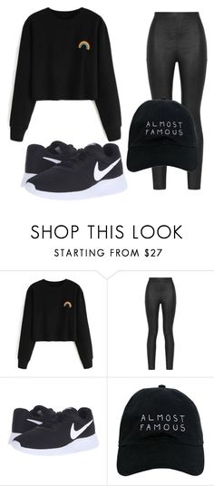 """""""Untitled #76"""" by halissiaelviracra on Polyvore featuring Armani Jeans, NIKE and Nasaseasons"""
