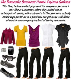 Ways to dress up yoga pants. Because...yeah, I wear them all the ...