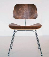 "EAMES  CHERRY ""LCM"" LOUNGE/DINING CHAIRS"