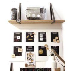 Wandplank leren straps GRIJS Plank, Storage, Projects, Diy, Home Decor, Kitchen, Atelier, Dresser, Housekeeping