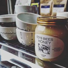 Love this honey sooooo much   Bloody delicious on our homemade Irish Soda bread toast or Banana bread.  Plus it helps the bees of Glasgow prosper. Win/win