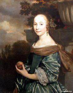 Artiste : Abraham van den Tempel  Date : 1662  Dimensions : 73 cm x 92 cm Matériaux : Peinture à l'huile sur toile