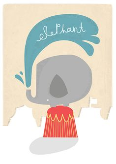 Elephant by Steph Baxter http://www.flickr.com/photos/thepinkrobot/3142555352/in/faves-jaypeg/