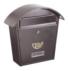 Cassetta postale Alubox CHALET Grigio Cassetta pratica e capiente per chi ricerca uno stile moderno • Lamiera zincata verniciata alle polveri • Dimensioni (hxlxp): 37x36,5x10,5 cm.