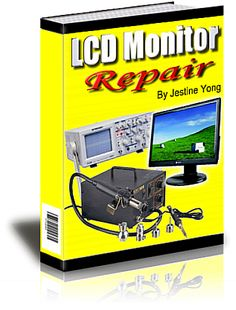 lcd monitor repair.Wy pay to repair your lcd monitor if you can do it youre self.