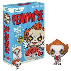 4defb74a92e It (2017) - Pennywise FunkO s Cereal with Pocket Pop! Vinyl Figure - ZiNG