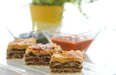 Phyllo with minced beef - How to make Phyllo with minced beef