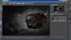 Видеоурок по Cinema 4d & After Effects : Создание метеорита
