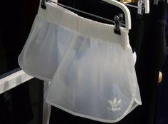 adidas transparent shorts