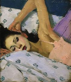 Painting by Malcolm Liepke