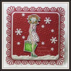 Diva Christmas card.