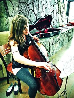 Like the angle... but not the colors #cello #cellist #photography