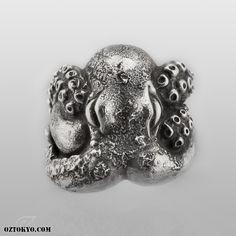 { Octopus (RoughFinish) } #ozabstract #octopus #ring #nakayamahidetoshi