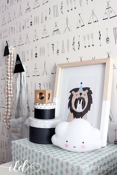 wandtattoos wandtattoo indianer ein designerst ck von n art bei dawanda baby pinterest. Black Bedroom Furniture Sets. Home Design Ideas