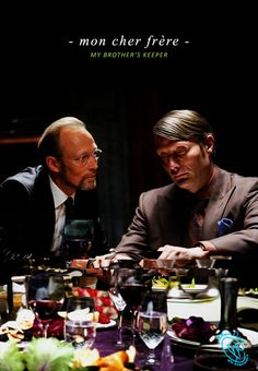 My Brother's Keeper / Hannibal Lecter & Charles Magnussen.